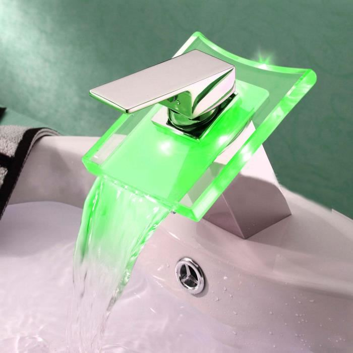 robinet modernes avec LED